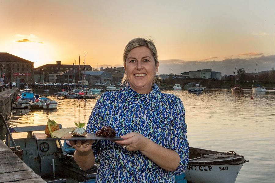 Marie Quinn of the Moorings Dungarvan loves to welcome people to her place on Davitts Quay and give them a little taste of Waterford there.