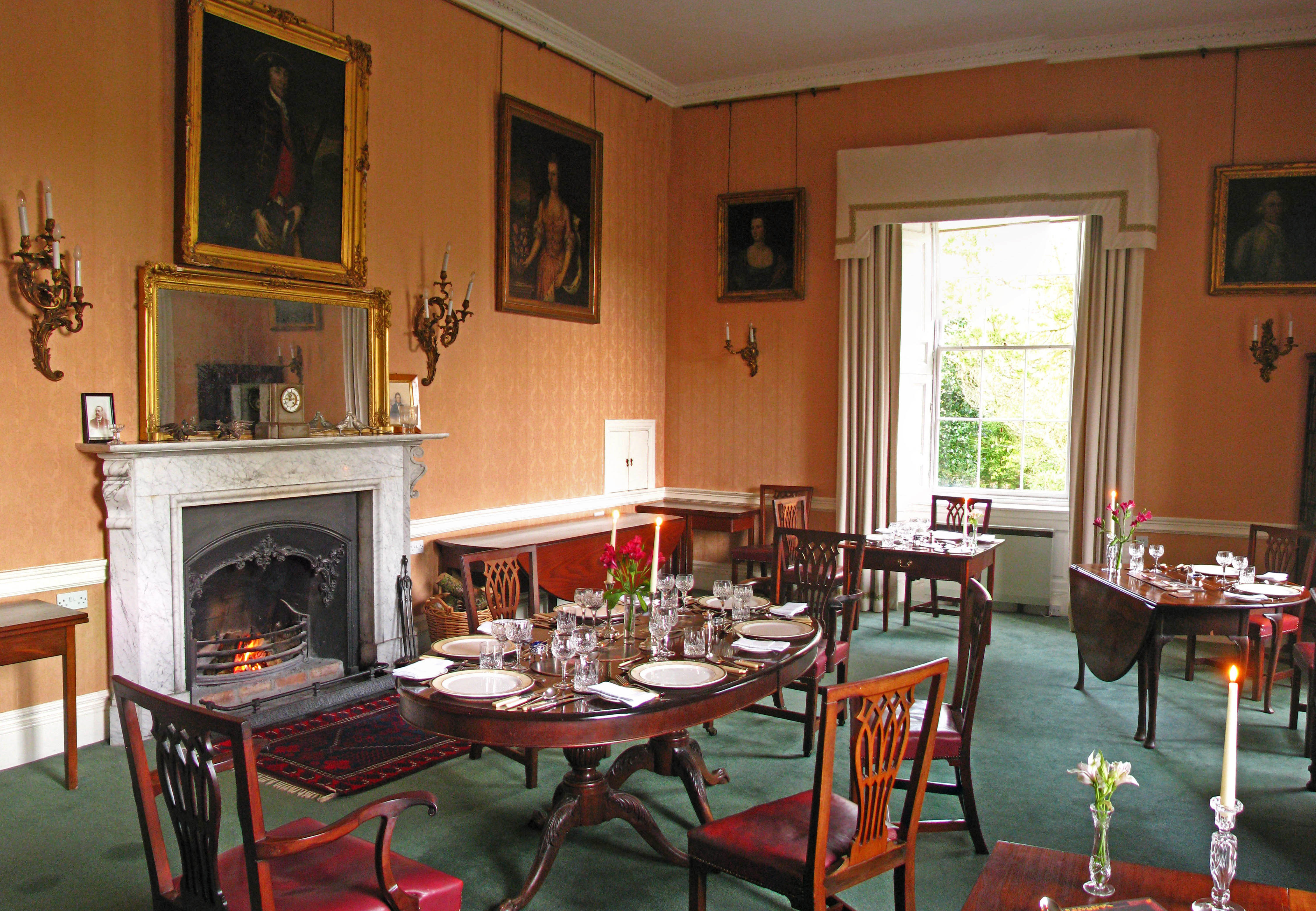 Coopershill dining room