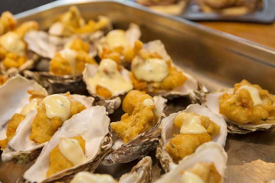 Harty Oysters, can be prepared and presented in so many ways.. sure to feature on the Tapas boards.