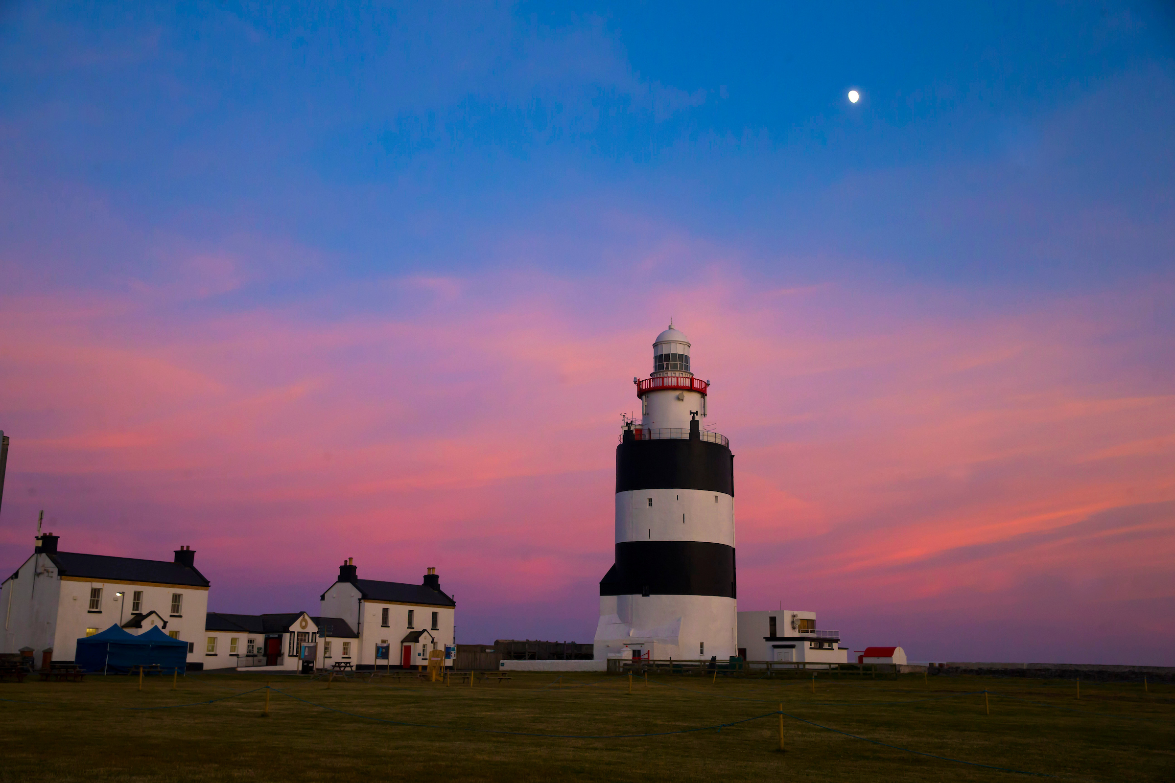 sunset at Hook Lighthouse