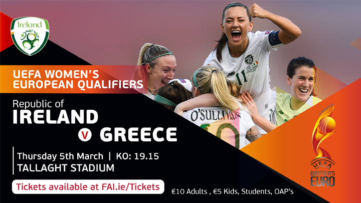 UEFA Women's Euro 2021 Qualifier - Republic of Ireland v Greece