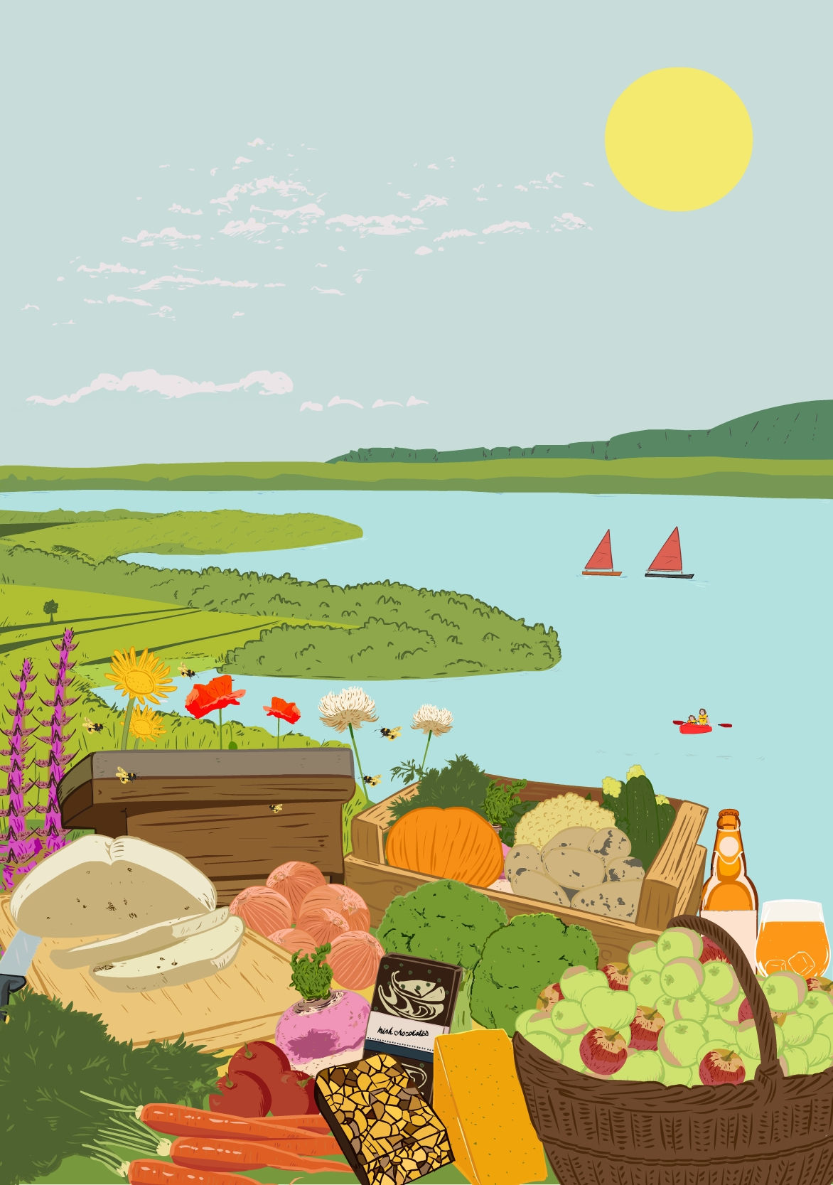 A celebration of food and drink in the unique setting of Lough Derg