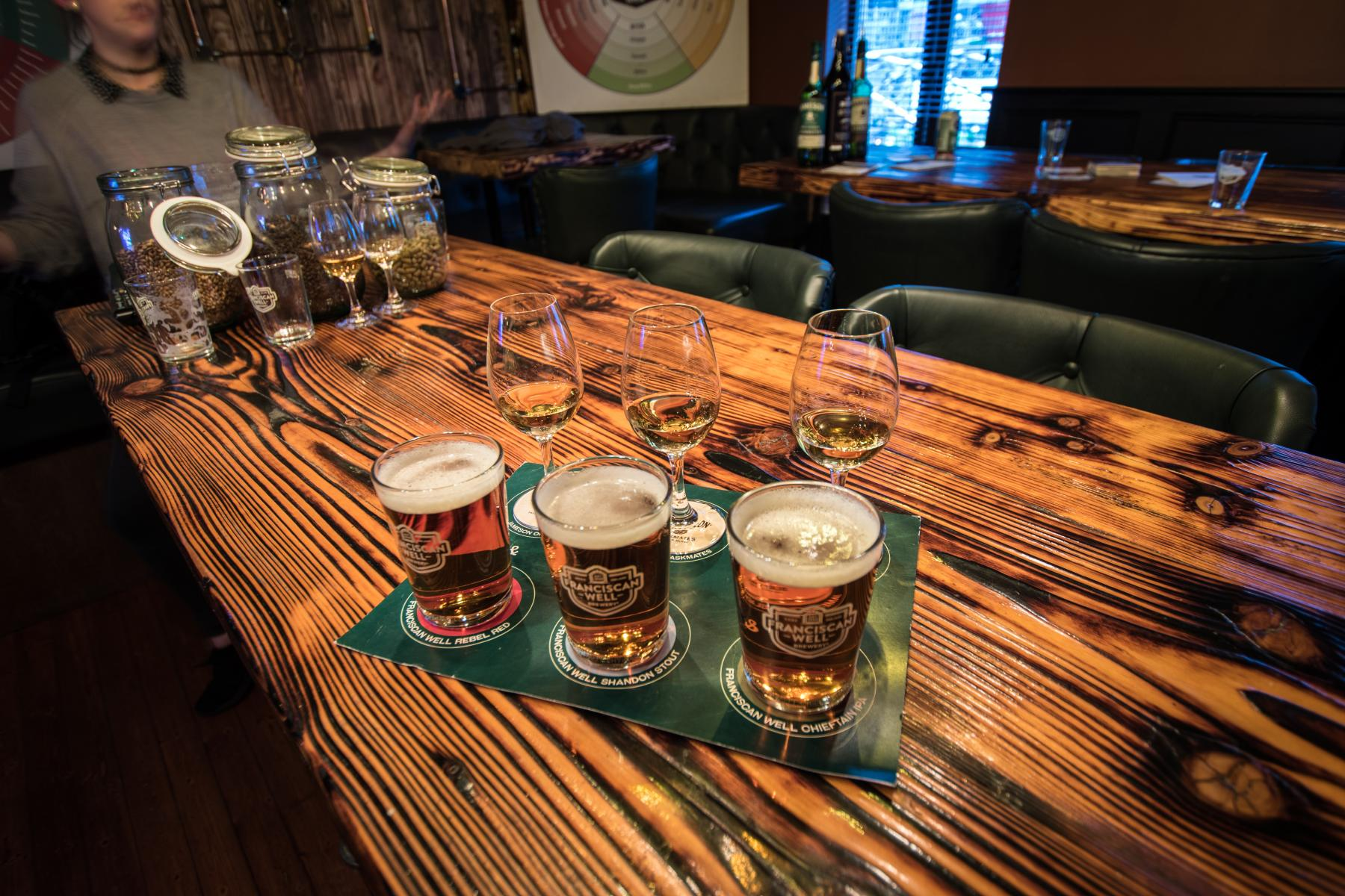 Learn how to taste and judge beers.