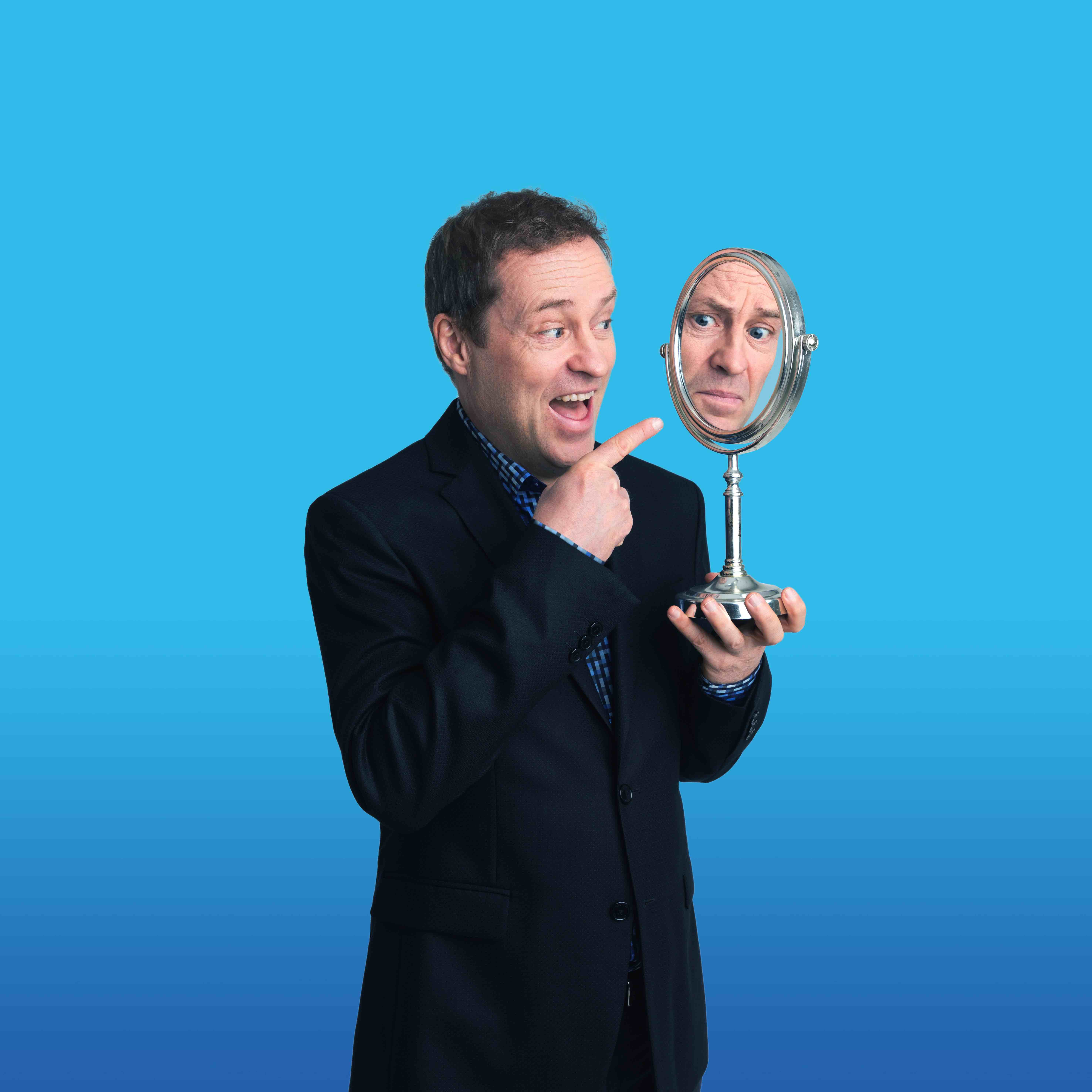 Understated genius Ardal O'Hanlon performs his new show