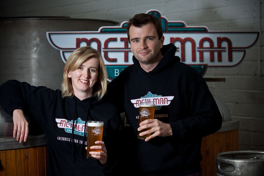 Tim and Grainne who own and run Metalman Brewery  - always welcome a tour on the Waterford city end of the Waterford Greenway.  Claire and Cormac welcome you at Dungarvan Brewing Company on the other end of the trail