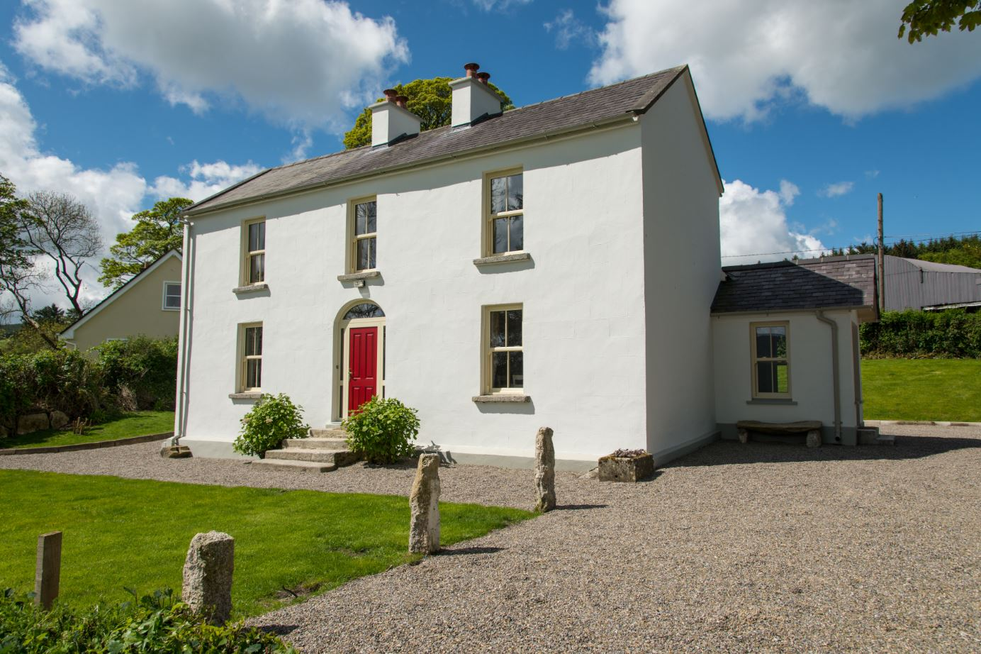 Abhainn Ri Farmhouse luxury accommodation in Co Wicklow