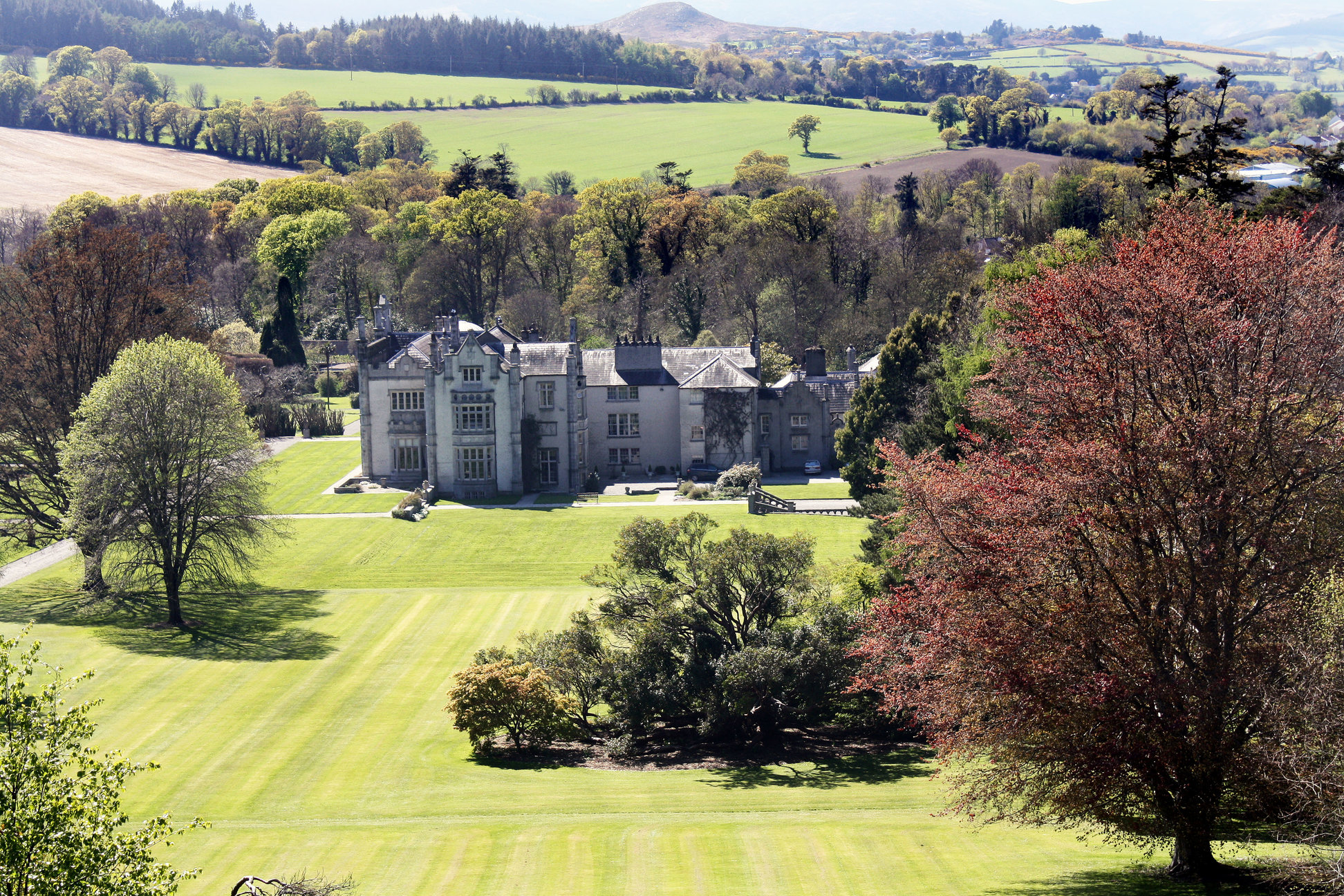 The beautiful Killruddery Estate and gardens