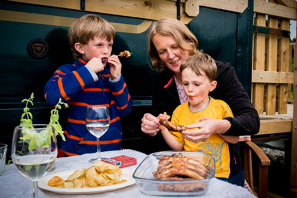 Family farm to fork weekend away - fun filled unique experience on a small traditional farm with animals and garden, in the unique Burren and Cliffs of Moher UNESCO Geopark. Taking part in daily farm activities and discover hidden gems of the area.