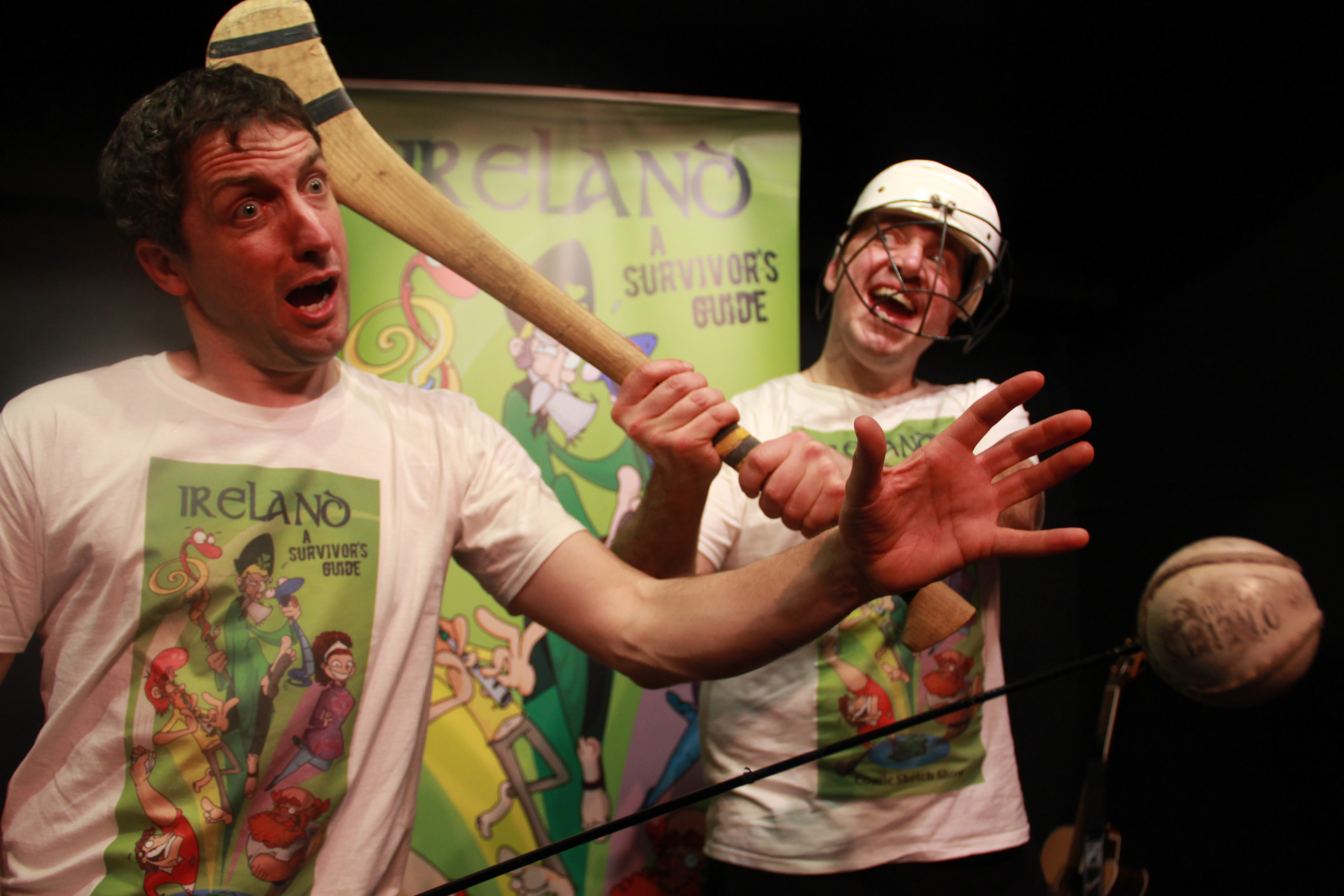 The Sport of Hurling live on stage-