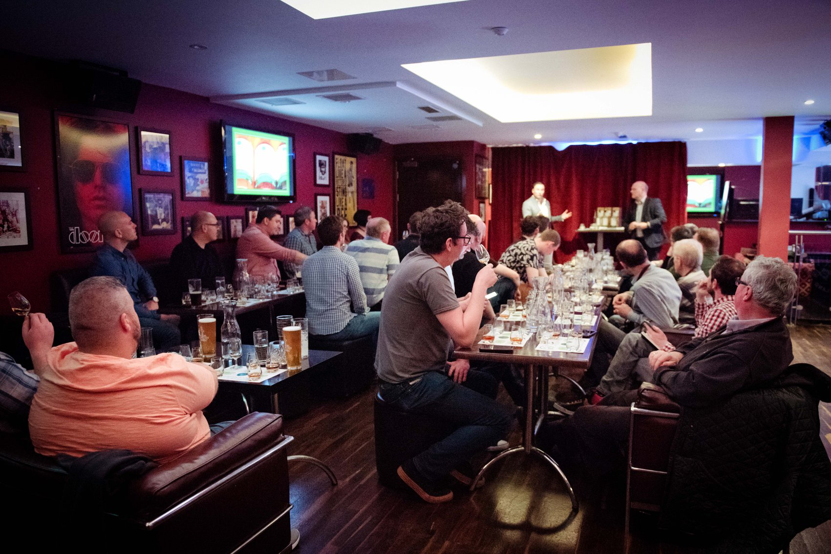 Whiskey Masterclass at Revolution Craft Bar, Waterford