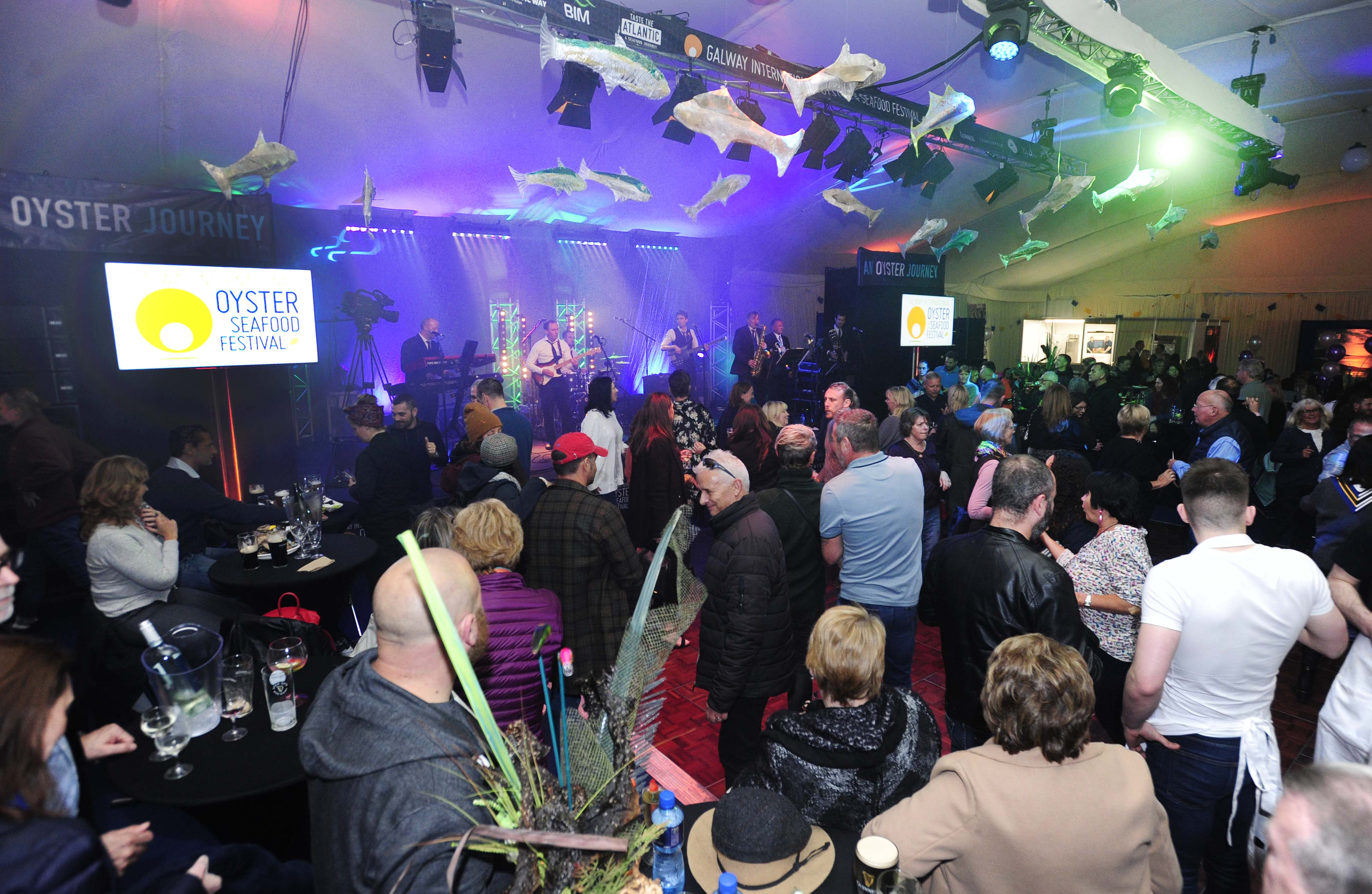 The Festival Marquee - live music every night