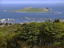 View of Irelands Eye from Howth