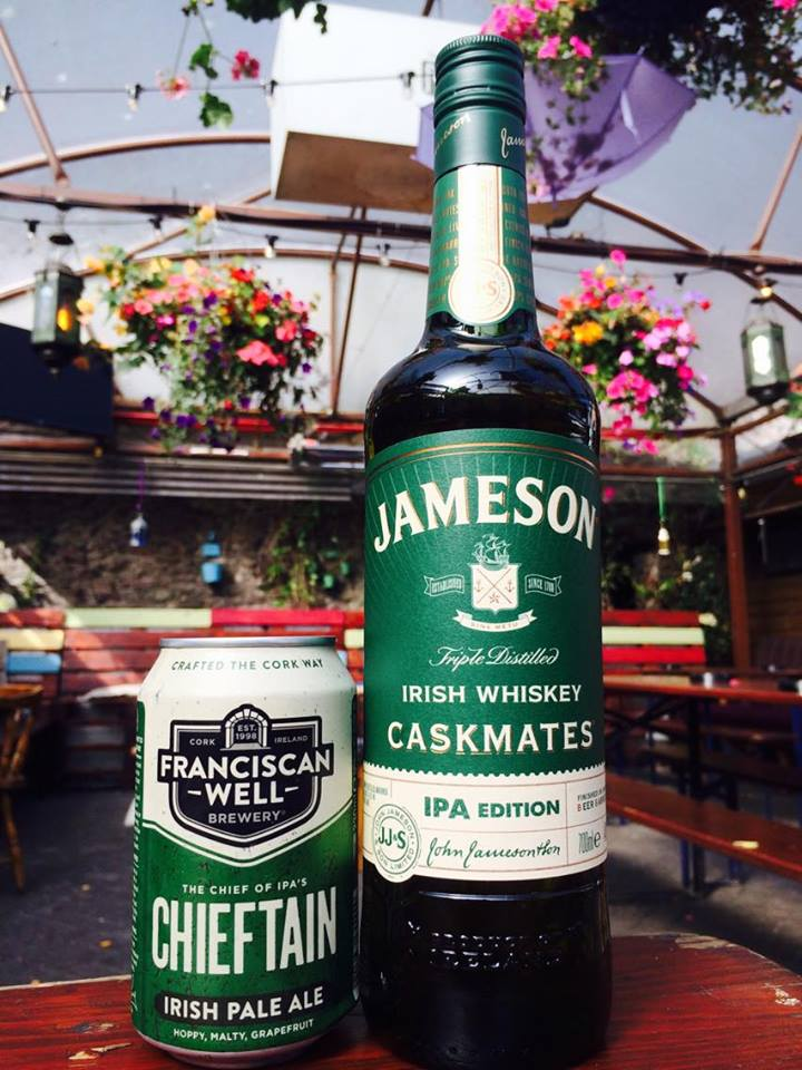 Jameson Caskmates and Chieftain IPA
