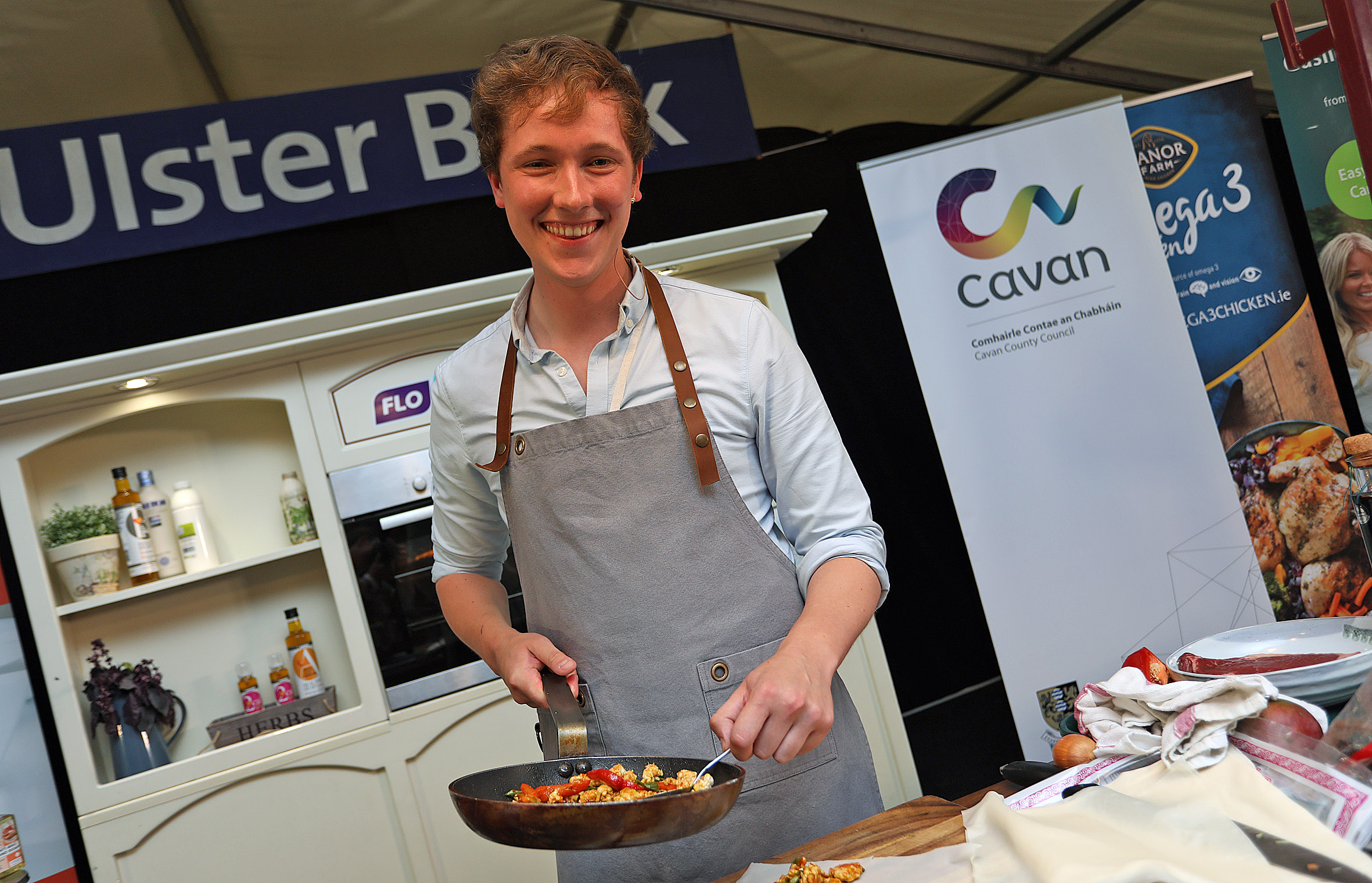 Cavan's own Chef Adrian will be cooking at the Ulster Bank Chefs' Kitchen at Taste of Cavan 2019