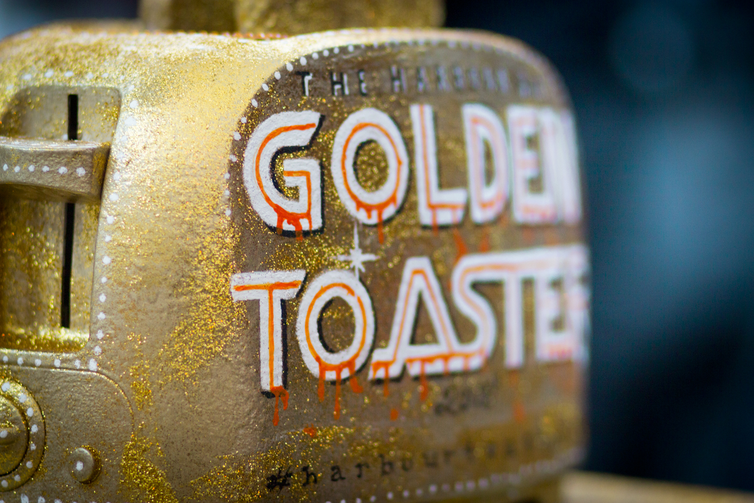 The Golden Toaster Award - awarded to the best Toastie in Bray