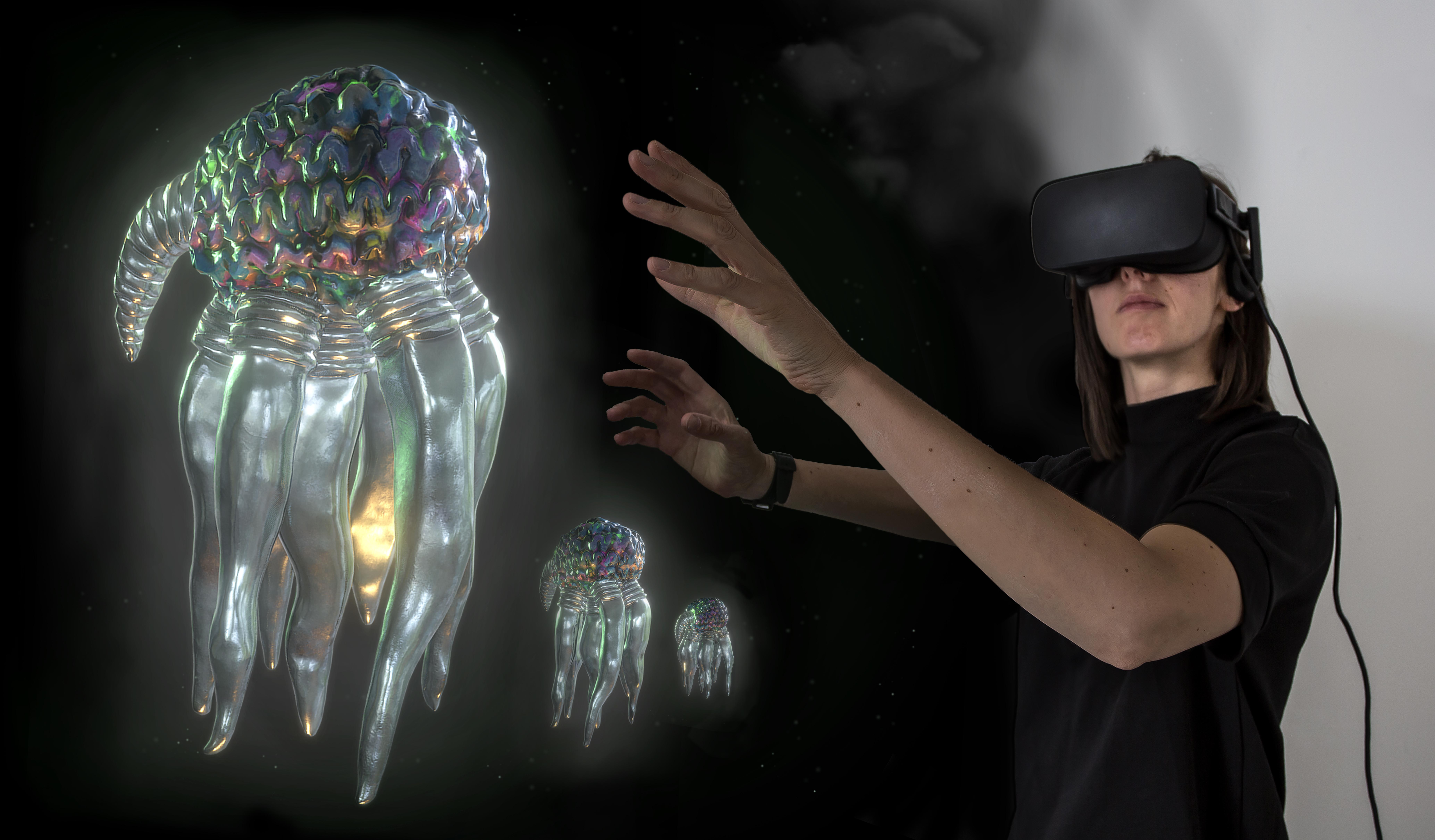 A stimulating VR experience that will take you on a simulated journey into the personified mind of 'Technology'. Listening to the inner dialogue of 'Technology's' mind as it replays both sides of a lovers' quarrel.