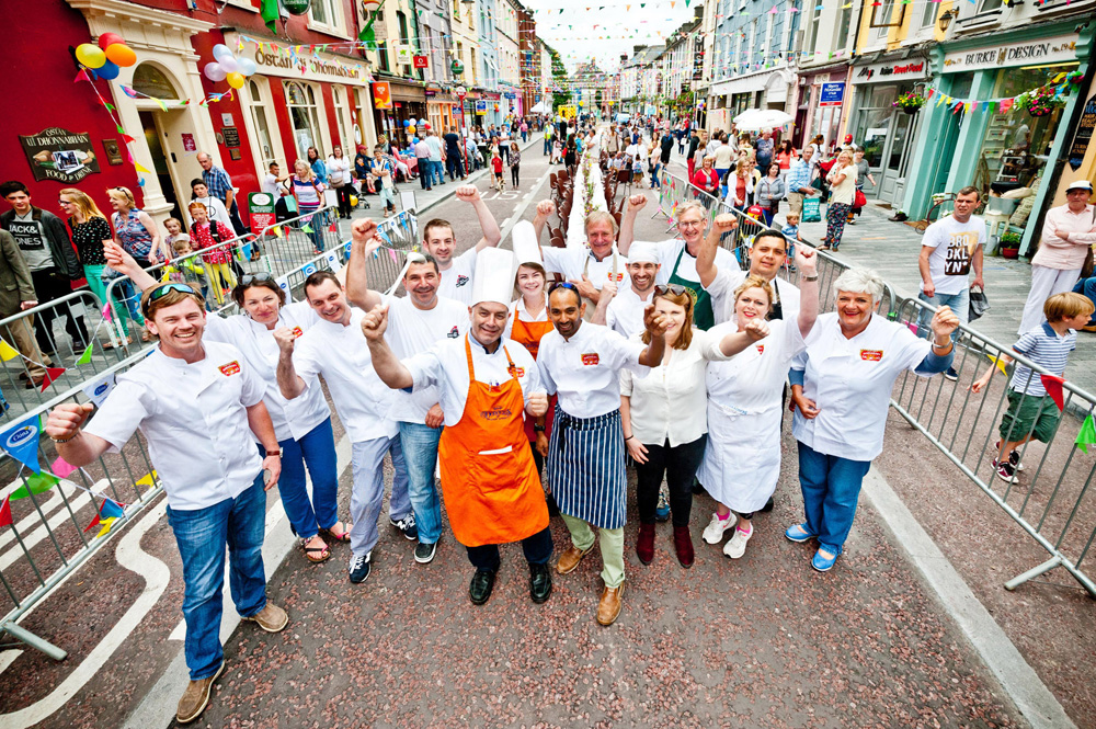 Carnival Cooks on Parade