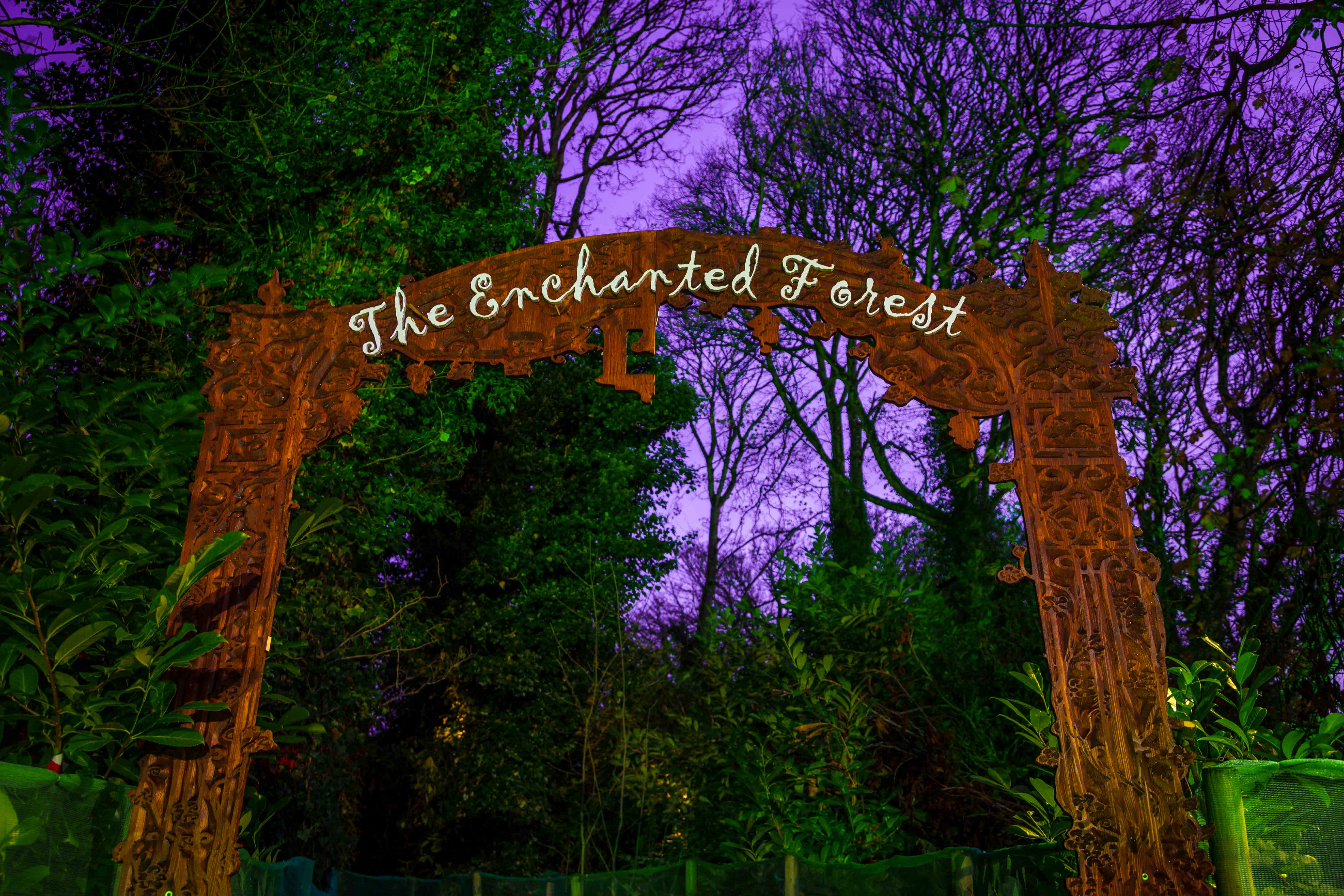 Visit the Enchanted Fairy Forest & the animals in the stables