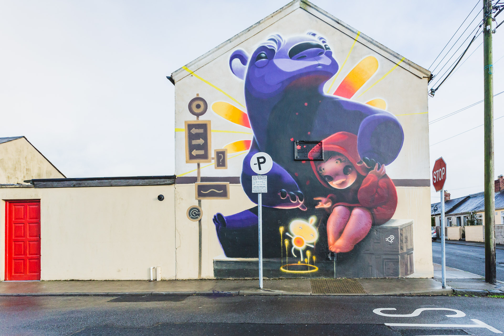 Artist: Animalito (Argentina), Waterford Walls Festival 2018