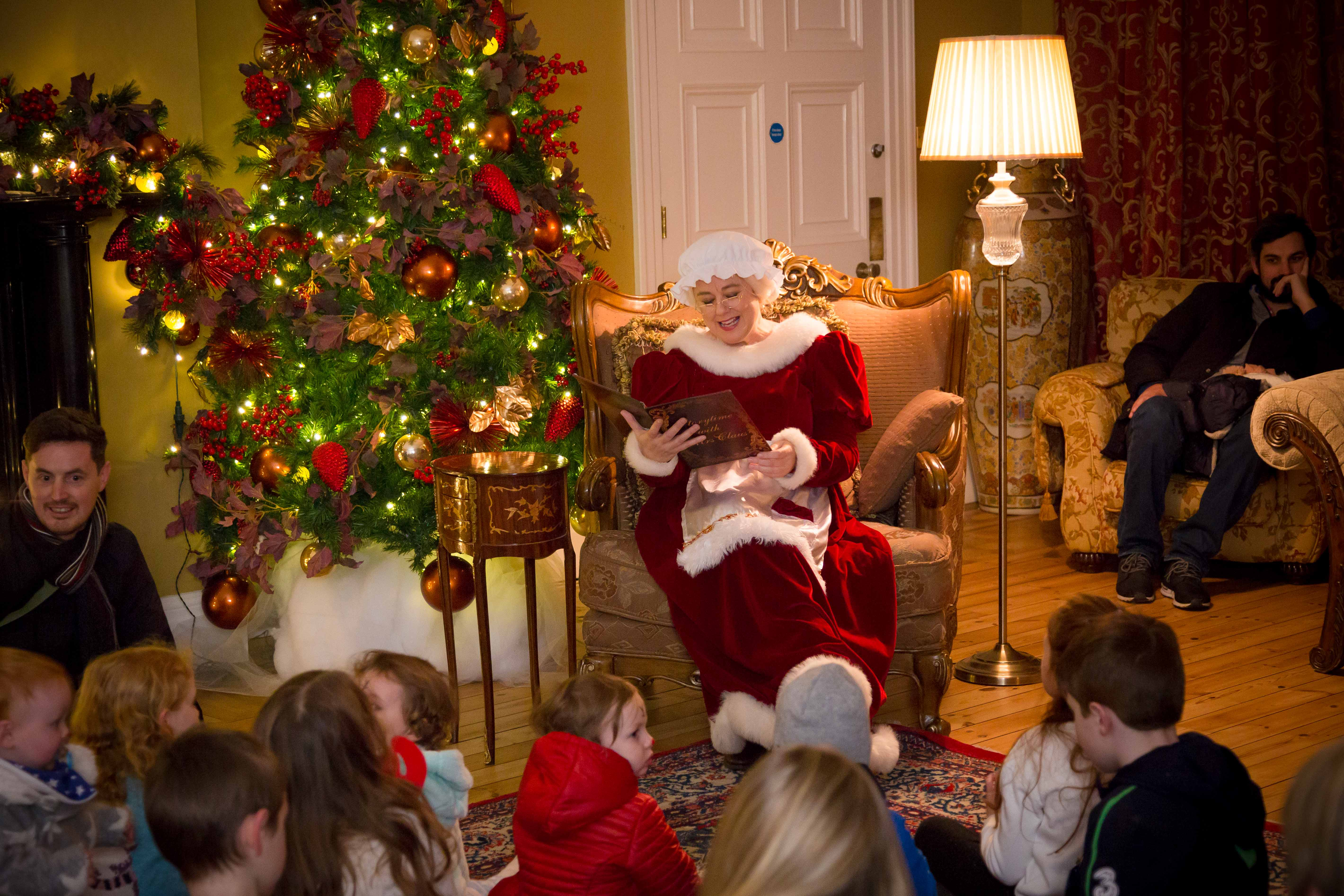 Visit Mrs Claus for Story-time!