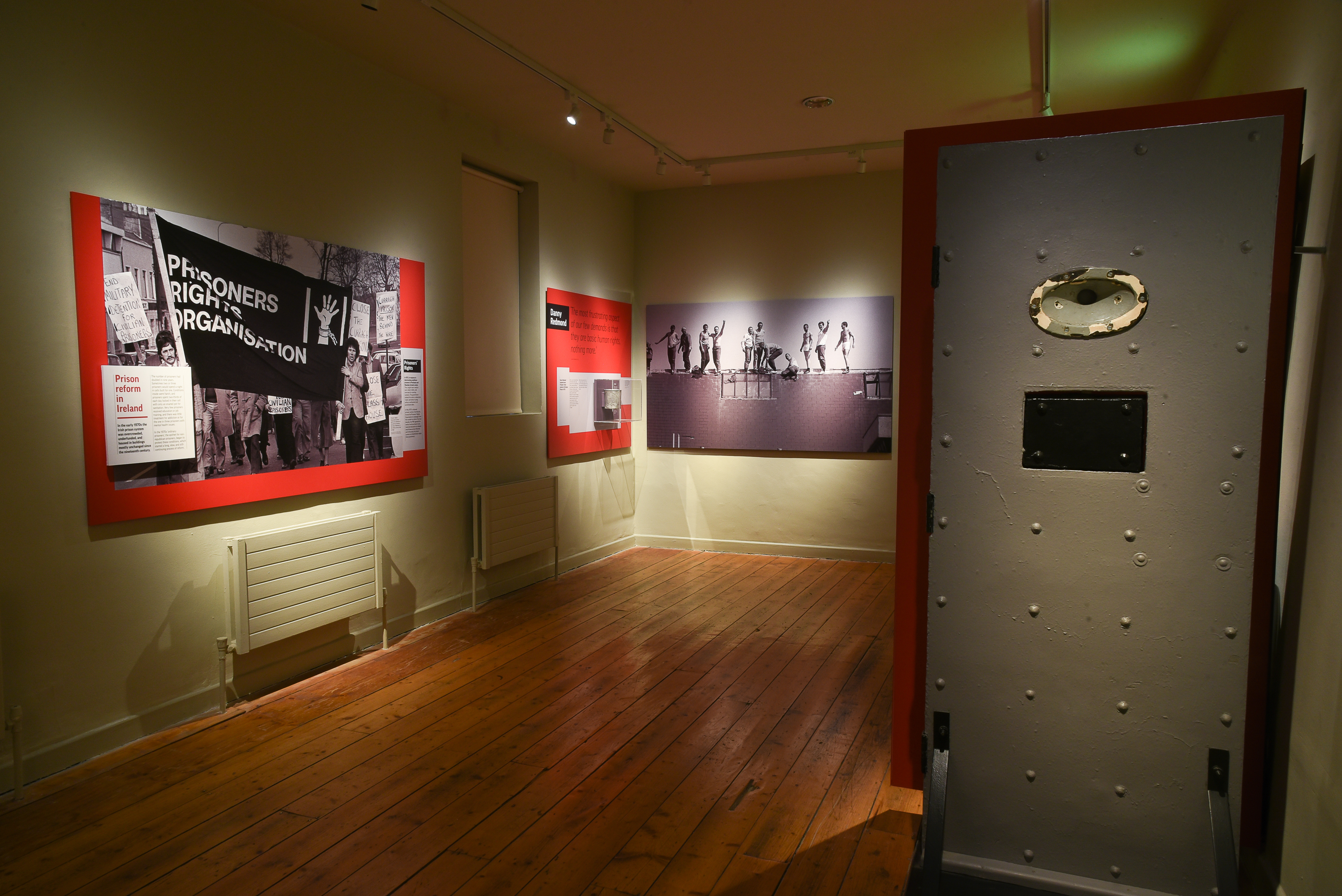The exhibition uses historical objects and the evocative photography to Derek Speirs to tell six people's stories.