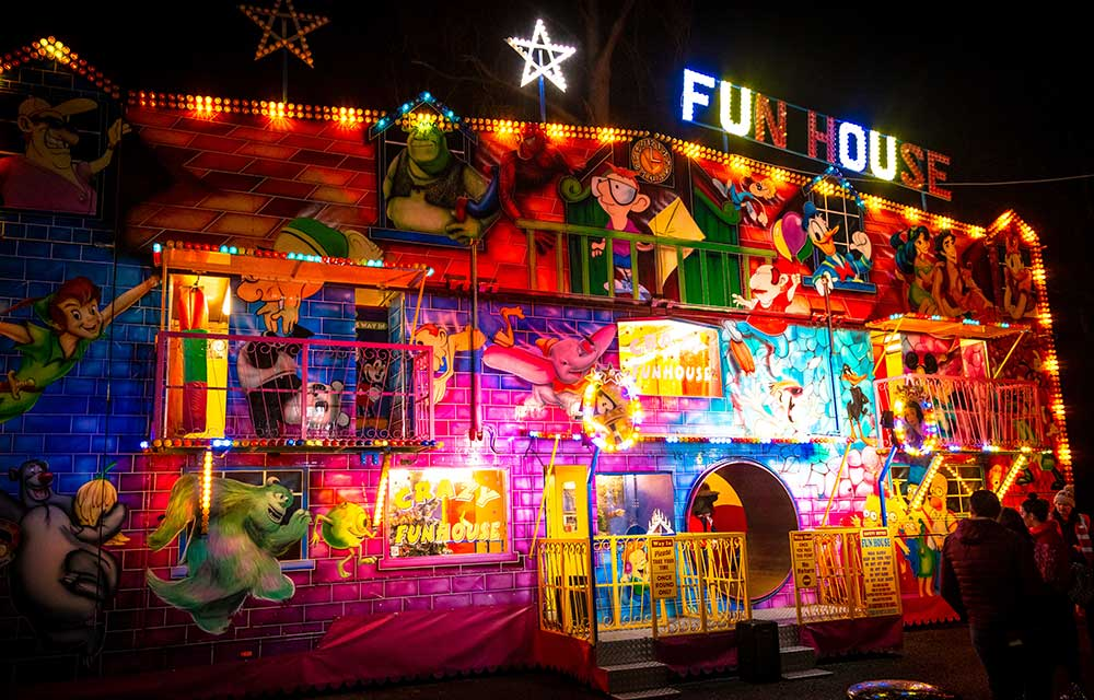 Unlimited funfair rides included - just sign up to be a member when booking!