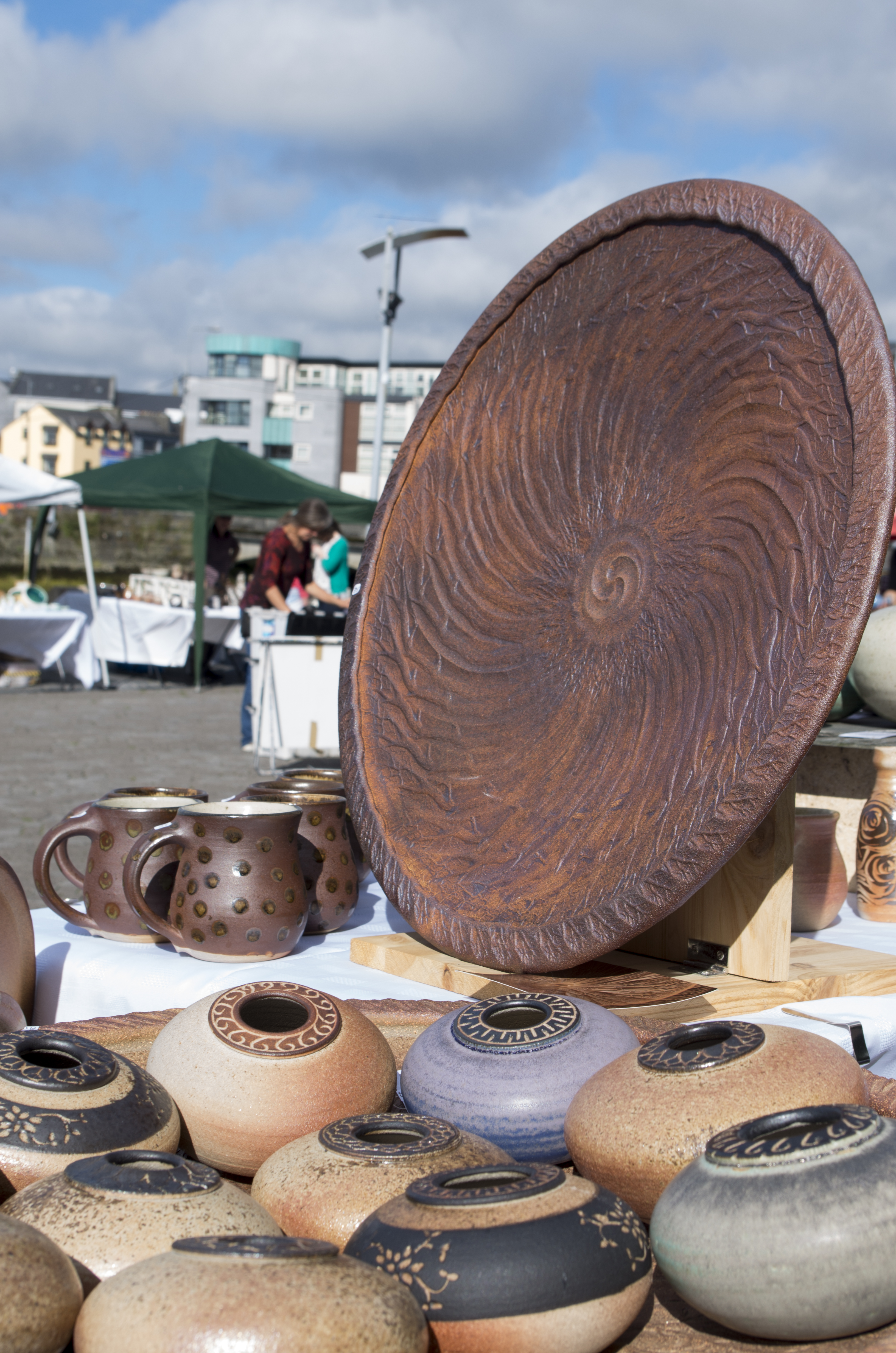 Galway Potters Market at Spanish Arch